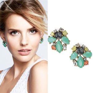 Stella & Dot Naomi Cluster Earrings